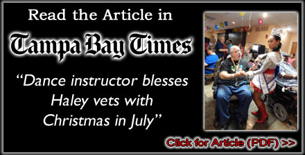 2016 VA Hospital Christmas in July - Tampa Bay Times Article (PDF)