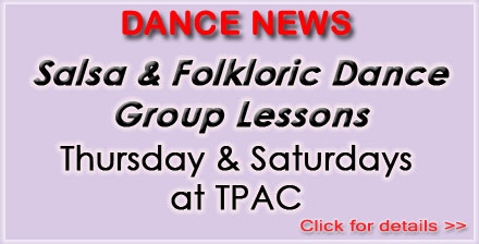 NEW Group Lessons at TPAC -  Apr-May 2015