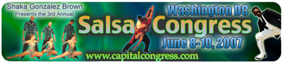Washington DC Salsa Congress