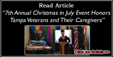 2017 VA Hospital Christmas in July - Tampa Bay Times Article